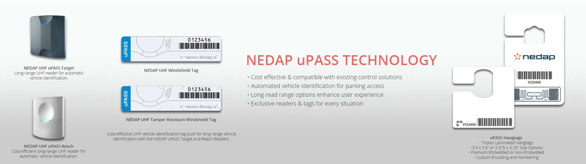 Product Highlight: uPASS RFID Readers, Window Buttons, Tags + Kits